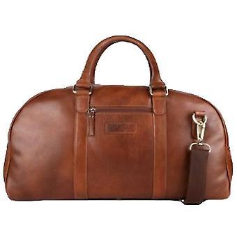Ashwood Leather Travel Holdall - Tan
