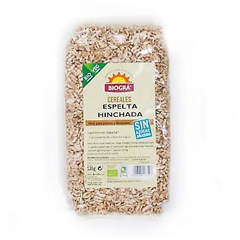 Biogra Organic Swollen Spelt without Sugar and Honey 125 gr