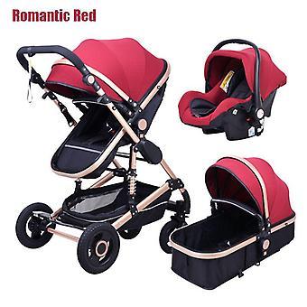 Babyfond Stroller, High, Landscape Kid Car, Two Way, Child Pram, Baby Comfort