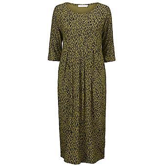 Masai Clothing Nima Green Patterned Dress
