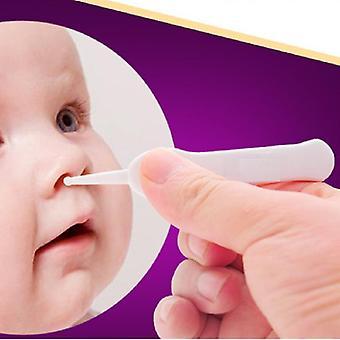 Vastasyntyneiden turvallisuus Turvallinen hoito Vauvan korva nenä Napa Muovi Pinssi