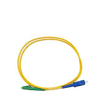 1.0 Meter Sc Upc To Lc Apc Fiber Patch Cord Cable Simplex Sm Single Mode 9/125