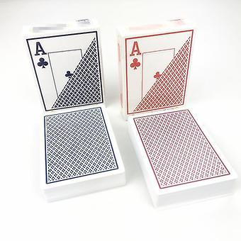 بوكر بلاستيك لعب الورق
