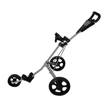 Push Golf-cart-bag-carrier, Umbrella-stand -trolley, Pliable 3 roues
