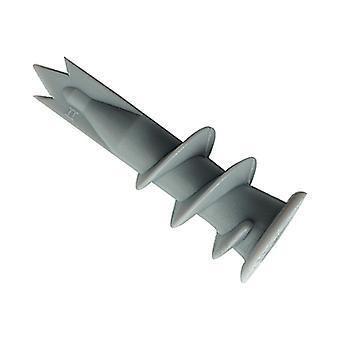 Rawlplug Nylon Self-Drill Plasterboard Fixing Pack of 6 RAW07010