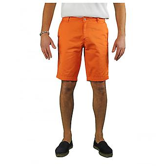 Saint James Doug Ii Orange Bermuda Shorts