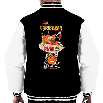 Pan Am Caribbean Vacations Men's Varsity Jacket