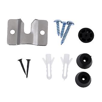 Hardware Kit Screws, Walll Bracket, U-shaped Groove Design Dart Accessories