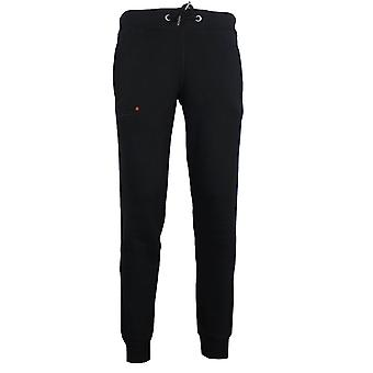 Superdry men's black classic joggers