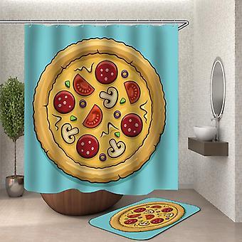 Pizza suihku verho
