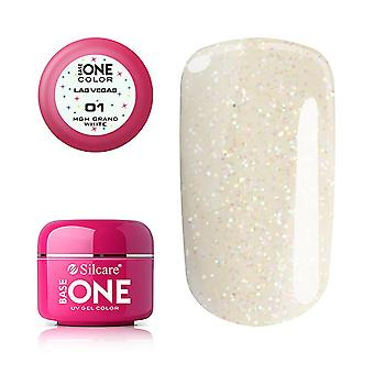 Base One - UV Gel - Las Vegas - MGM Grand White - 01 - 5 gram