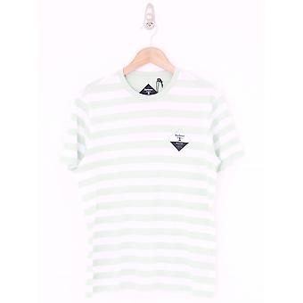 Barbour Coast Stripe T-shirt - Dusty Mint