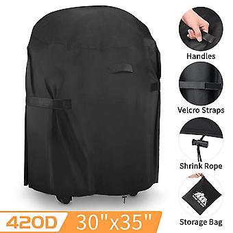 Outdoor Staub wasserdicht heavy Duty Grill Abdeckung Regen Schützenoutdoor Barbecue Cover (77 * 90CM)