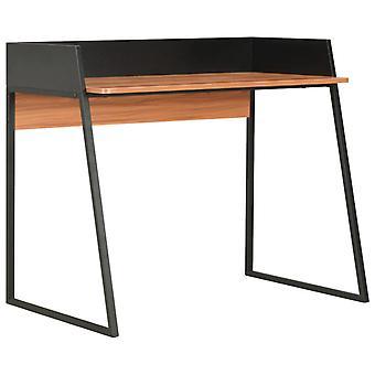 vidaXL Työpöytä Musta ja Ruskea 90x60x88 cm