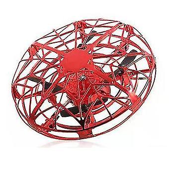 Levitação rica vermelha a gravidade do drone desafiando a suspensão manual helicóptero x2138