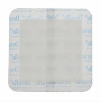 DermaRite Adhesive Dressing 6 X 6 Inch Gauze Sterile, 25 Count