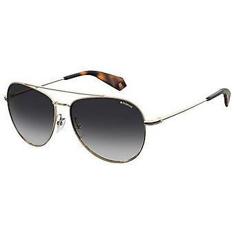 Polaroid Pilot Sunglasses - Gold