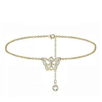 Fashion Butterfly Anklets For Women Adjustable Women's  Jewelry Anklet Gifts