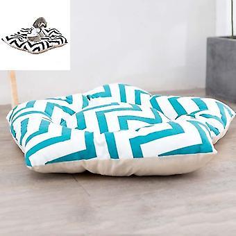 Haustier Zelt Schlafmatte Hundebett, Technische Daten: Medium 45cm(Green Stripes)