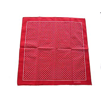 Bufanda de Bandana Manchada Roja