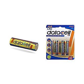 Alkaline Batteries R6 1,5 V AA (4 uds)