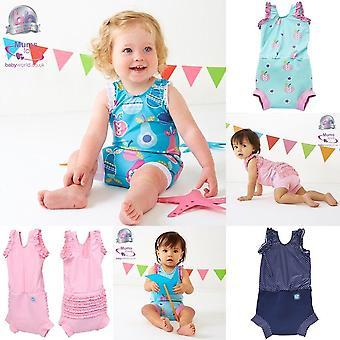 Splash su bambino costume da pannolino felice, piccole anatre, 0-4 mesi