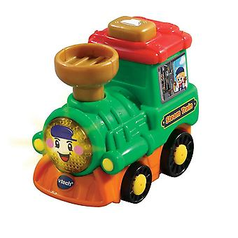 Toy trains train sets toot-toot drivers steam train green preschool toy with songs  melodies and sound effects
