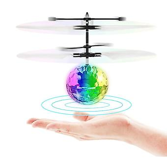 Electric Rc Flying Ball Luminous Kid's Flight Balls Aircraft Remote Control Toys