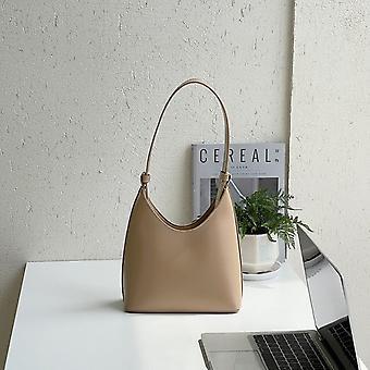 Damentaschen Mode Trend 2021 Leder Schulter Weiblich Luxus Designer Handtaschen Marke Eimer Damen Geldbörsen Shopper Shopper Geldbörsen