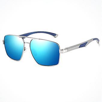 Blå solglasögon för män