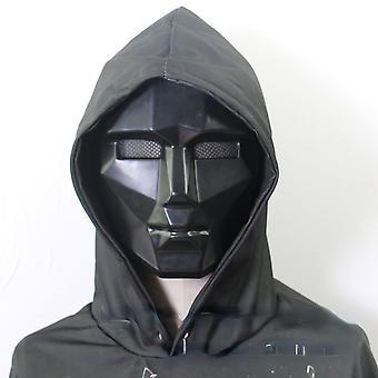イカゲームマスクホラーレッドマネージャー、木製の男