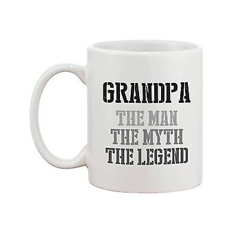 The Man Myth Legend Mug Cup for Grandpa Holiday Gift idea for Grandfather