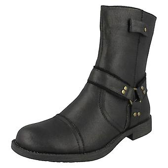 Mens Military Distressed Style Ankle Boot A3031