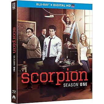 Escorpión: Temporada uno [Blu-ray] USA importar