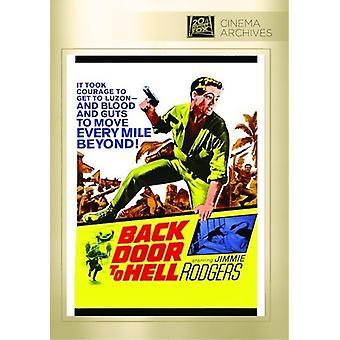 Achterdeur naar hel [DVD] USA import