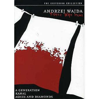 Andrzej Wajda - Three War [DVD] USA import