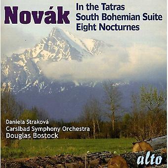 Daniela Strakova & Carlsbad Symphony Orch - V V Tezsl Nov K: en los Tatras; Suite del sur de Bohemia; Importación de ocho nocturnos [CD] Estados Unidos