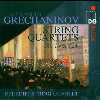 A. Grechaninov - Alexander Grechaninov: String Quartets Op. 75 & 124 [CD] USA import