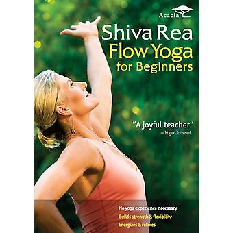 Shiva Rea: Flow Yoga for Beginners [DVD] USA import