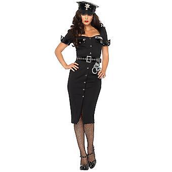 Lt Lockdown politieagentes politieagent Cop Uniform vrouw kostuum