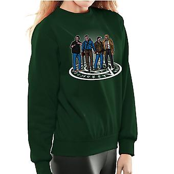 The Hunting Party Ash Vs Evil Dead Supernatural Mashup Women's Sweatshirt
