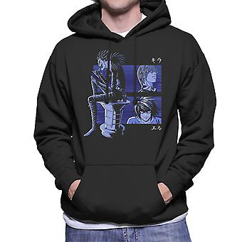 Kira L And Ryuk Deathnote Men's Hooded Sweatshirt