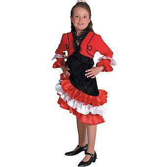 Kinder Kostüme Mädchen Spanierin Kostüm