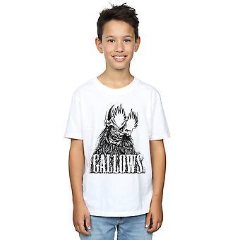 Gallows Boys Black Skull T-Shirt