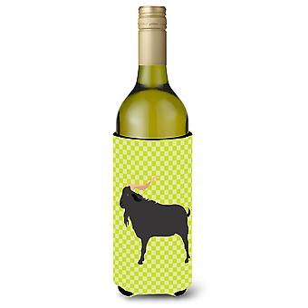 Verata Goat Green Wine Bottle Beverge Insulator Hugger