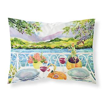 Afternoon of Grape Delights Wine Fabric Standard Pillowcase