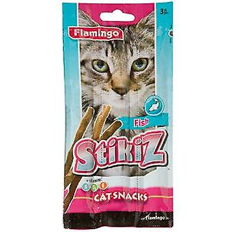Flamingo Soft Fish Sticks for Cats (3 pcs) (Cats , Treats , Chewy & Softer Treats )
