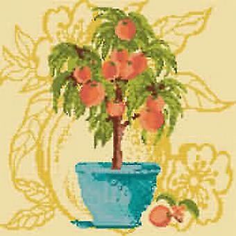 Peach Tree Needlepoint Kit
