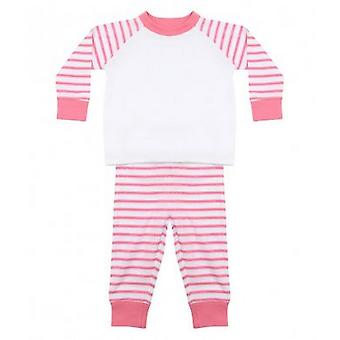 Larkwood Baby Boys/Girls Striped Pyjamas