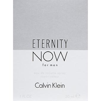 Calvin Klein la eternidad ahora para Men Eau de Toilette 30ml EDT Spray